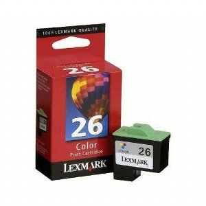 Cartucho Lexmark 26 Original 10N0026 Color
