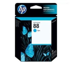 Cartucho HP 88 cyan 13 ml c9386al HP CX 1 UN