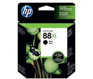 Cartucho HP 88XL preto 58,5ml  C9396AL Original