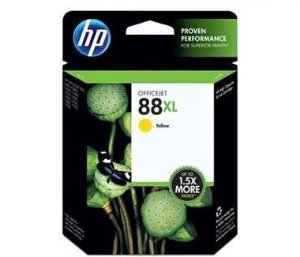 Cartucho HP 88xl amarelo 22,5ml C9393AL HP CX 1 UN
