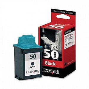 Cartucho Lexmark 50 Preto 17G0050 Original