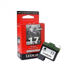 Cartucho 17 Lexmark 10N1183 Preto