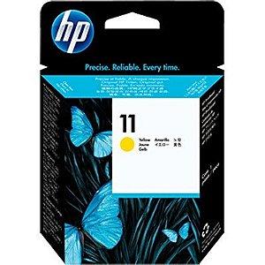 Cabeça de impressão Original HP 11 amarelo 8ml C4813A CX 1 UN