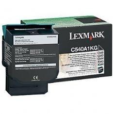 Cartucho de Toner Lexmark C540 Preto C540A1KG Original