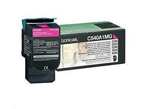 Cartucho de Toner Lexmark Magenta C540/C543/C544/X543/X544-1K- (Cód.C540A1MG)