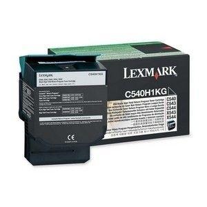 Cartucho de Toner Lexmark Preto C540/C543/C544/X543/X544-2,5K- (Cód.C540H1KG)