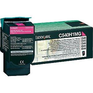 Cartucho de Toner Lexmark C540 Magenta  C540H1MG Original