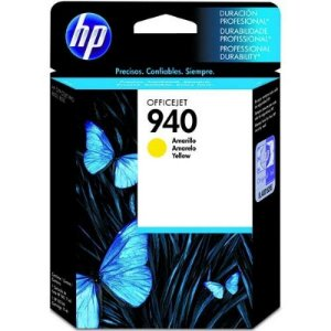 Cartucho de Tinta HP 940 C4905AB Amarelo Officejet 8000 8500 Original
