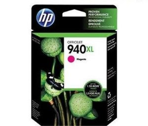 Cartucho de Tinta HP 940XL C4908AL Magenta Officejet 8000 8500 Original