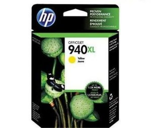 Cartucho de Tinta HP 940XL C4909AL Amarelo Officejet 8000 8500 Original