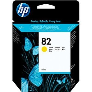 Cartucho HP 82 yellow 69ml c4913a HP CX 1 UN (FORA DA CAIXA )