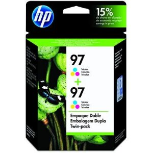 Cartucho HP 97 twin pack (2xc9363wl) tricolor c9349fl HP CX 2 UN