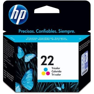 Cartucho HP 22 tricolor 5ml c9352al HP CX 1 UN