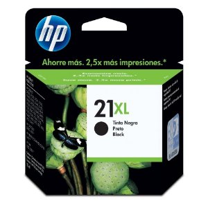 Cartucho HP 21XL preto C9351CL CX 1 UN Original