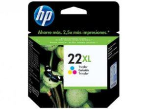 Cartucho HP 22XL tricolor C9352CL Original
