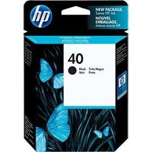 Cartucho HP 40 preto 42ml 51640A Original