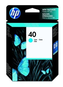 Cartucho HP 40 cyan 42ml 51640c Original