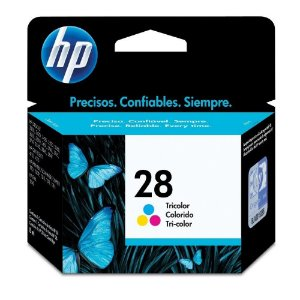 Cartucho HP 28 color C8728AL / C8728A Original