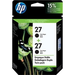 Cartucho HP 27 twin pack (2xc8727al) preto C9322FL Original