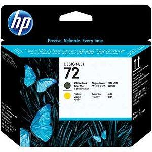 Cabeça de impressão HP 72 preto/amarelo C9384A Original