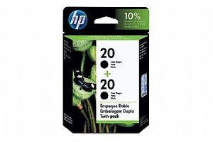 Cartucho HP 20 twin pack Preto (02xc6614dl) C8798FL Original