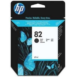 Cartucho de Tinta HP 82 preto CH565A 69ml Original