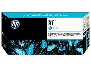 HP 81 Cabeça de Impressão Ciano C4951A Original