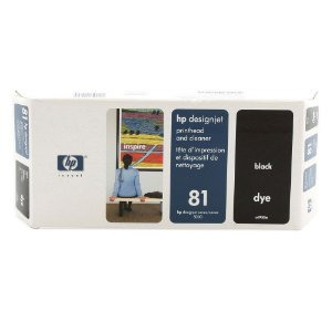 Cabeça de Impressão HP 81 C4950A Preto