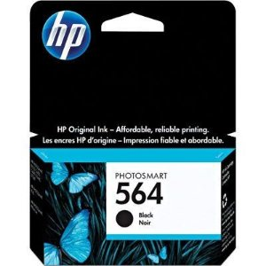 Cartucho HP 564 preto CB316WL CX 1 UN Original