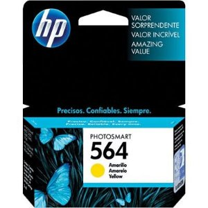 Cartucho HP 564 amarelo CB320WL Original
