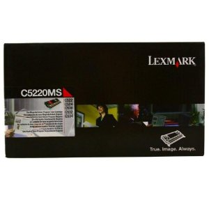 Cartucho de Toner Lexmark C522 Magenta C5220MS Original