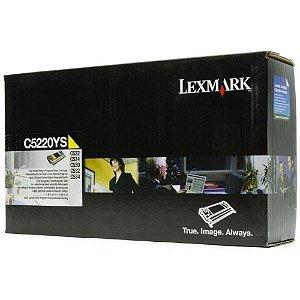 Toner Lexmark C522 C5220YS C524 Original