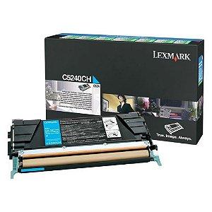 Toner Lexmark Cyan C5240CH Original