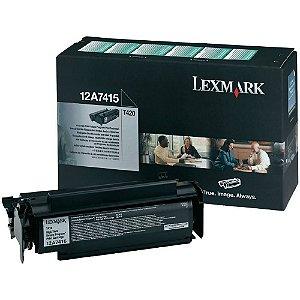 Toner Lexmark T420 12A7415 T420dn Original