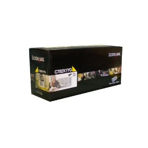 Toner Lexmark C782 C782X1YG X782 Original