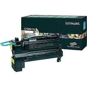 Toner Lexmark C792dhe C792X1YG Original
