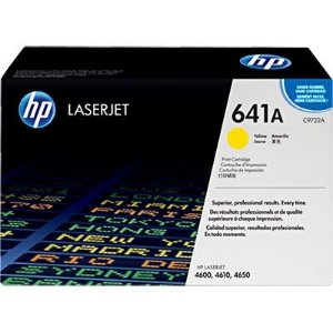 Cartucho de Toner HP 641A Yellow C9722A Original
