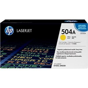 Cartucho de Toner HP 504A Yellow CE252A Original