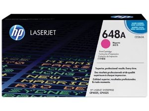 Cartucho de Toner HP LaserJet 648A Magenta CE263A Original