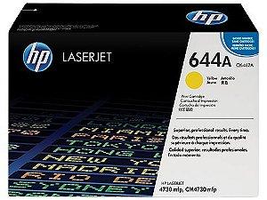Cartucho de toner LaserJet amarelo HP 644A original(Q6462A)