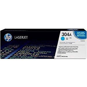 Toner HP 304A Cian Laserjet Original (CC531A) Para HP Laserjet CP2025dn, CM2320n, CM2320nf CX 1 UN