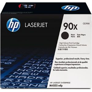 Toner HP 90X Preto Laserjet Original (CE390X) Para HP Laserjet Enterprise M4555f, M4555h, M602n, M603n UN 1 UN