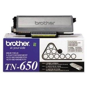 Cartucho de Toner Brother Original TN650 Preto Original