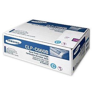 Toner Samsung de Impressão Ciano CLP-C660B Original