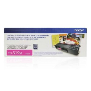 Toner Brother Magenta TN319M | MFC-L8600CDW MFC-L8850CDW DCP-L8400CDN | Original