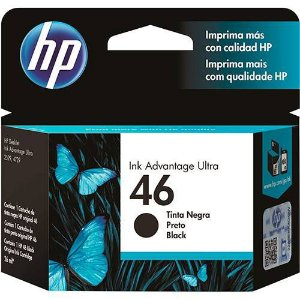 Cartucho HP 46 Preto 26ml CZ637AL Original