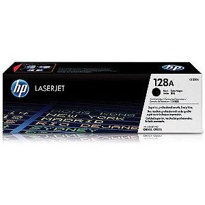 Toner HP 128A Preto Laserjet Original (CE320AB) Para CM1415fn, CM1415fnw, CP1525nw CX 1 UN