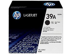 Cartucho de toner LaserJet preto HP 39A original (Q1339A)