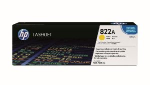 Cartucho de Toner HP LaserJet 822A Amarelo C8552A Original