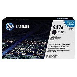 Cartucho de toner LaserJet preto HP 647A original (CE260A)